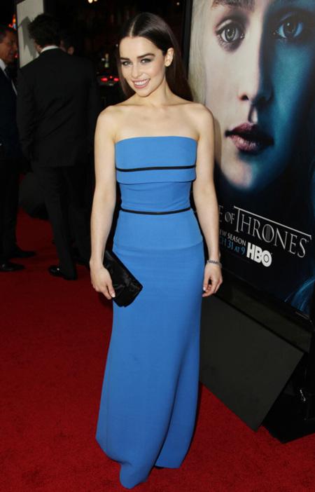 Emilia Clarke Juego de Tronos estreno 2013