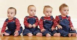 Siete hijos en tres años: primero trillizos y ahora, cuatrillizos