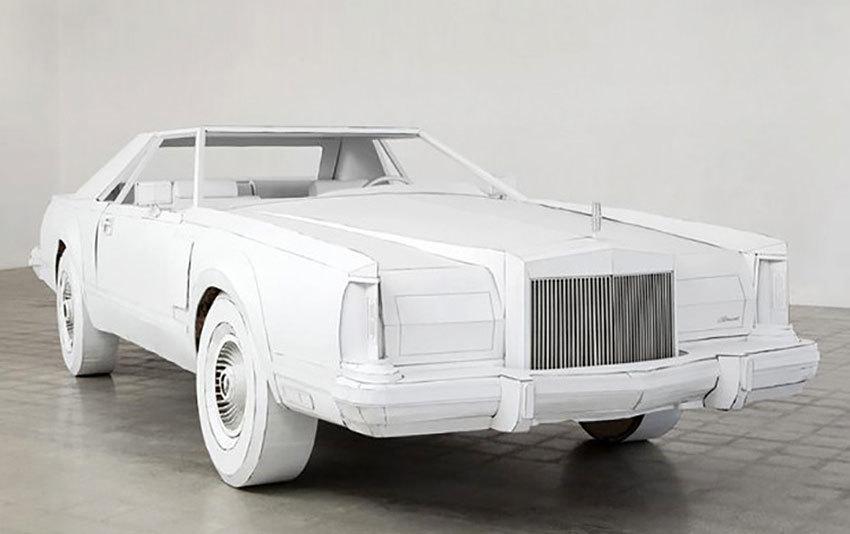 Foto de Lincoln Continental de papel (7/7)