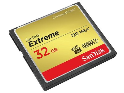 Black Friday: tarjeta de memoria Compact Flash SanDisk Extreme de 32 Gb por 29,45 euros en Amazon