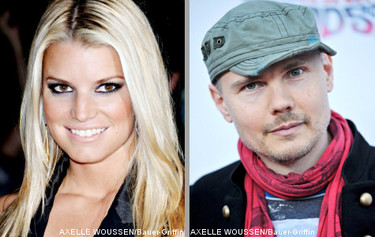Parejas imposibles: Jessica Simpson y Billy Corgan