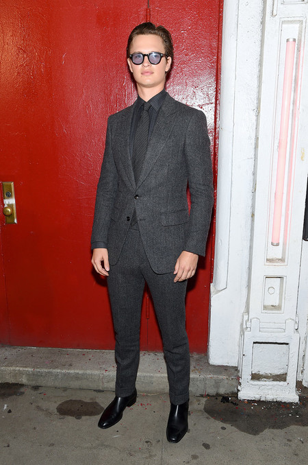Ansel Elgort Runway Tom Ford New York Fashion Week 03