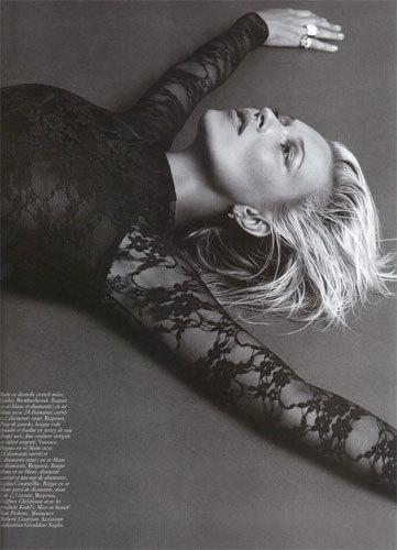 Foto de Kate Moss para Vogue París (10/10)