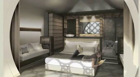 Habitaciones interior  Hotel Mas Tinell