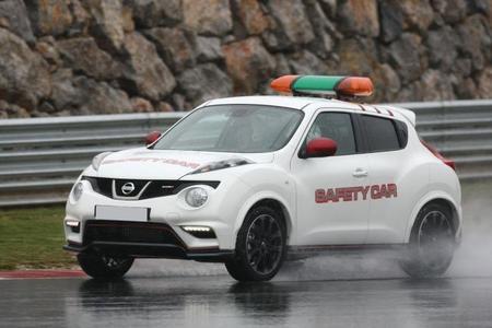 El Nissan Juke Nismo comienza a ejercer de <em>Safety Car</em> en España