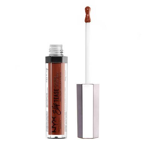 Brillo de labios Slip Tease Full Color Lip Lacquer de NYX