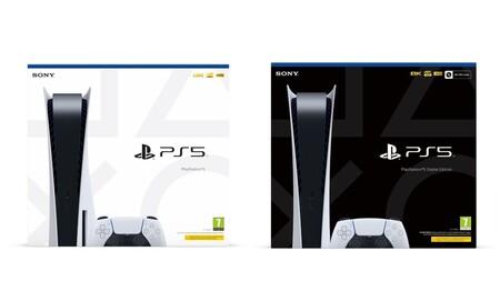Así es el diseño de las cajas donde vendrán la PS5 y la PS5 Digital Edition