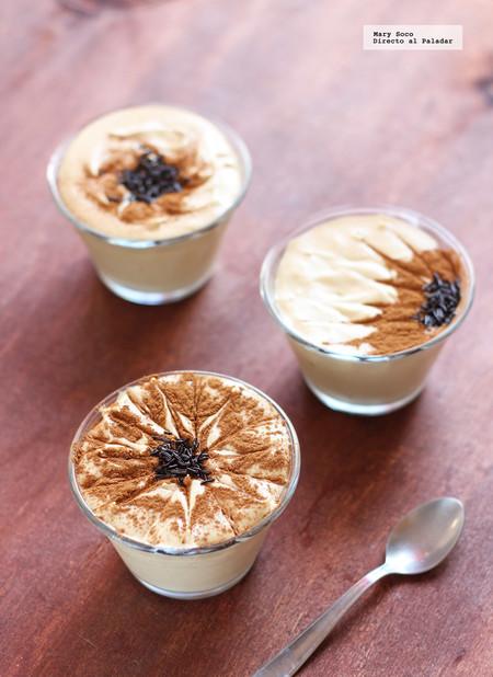 Mousse de cafe