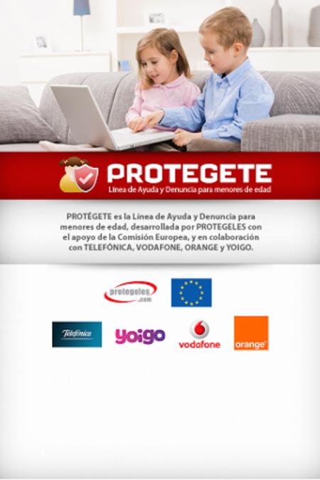 Se ha presentado 'Protegete': una herramienta de ayuda y denuncia para los niños