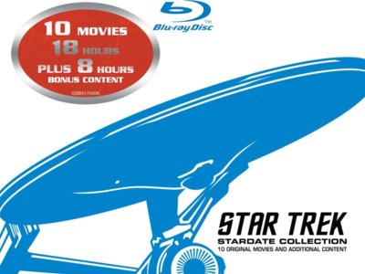 Boxset Star Trek remasterizado en Blu-ray por 27 euros