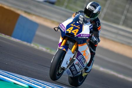 Arón Canet se luce en el segundo día de pretemporada de Moto2 en Jerez; Gabriel Rodrigo el más rápido en Moto3