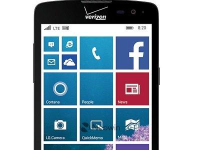 LG confirma la existencia de su nuevo Windows Phone en la página oficial