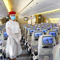 Emirates se blinda contra el Coronavirus y empieza a hacer test rápidos a pasajeros