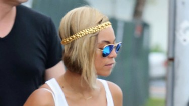 Beyoncé no se decide por el look corto
