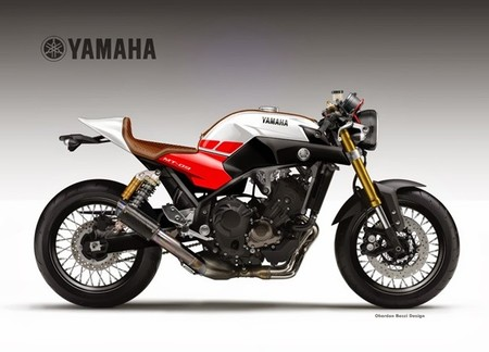 Yamaha MT-09 Cafe Concept
