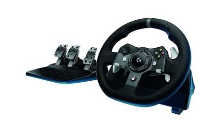Logitech G290, el volante para tus juegos de PC y Xbox, esta mañana en Mediamarkt por sólo 179 euros