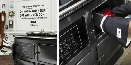 AGA iTotal Control Cooker, cocina que se controla mediante SMS o desde la Web