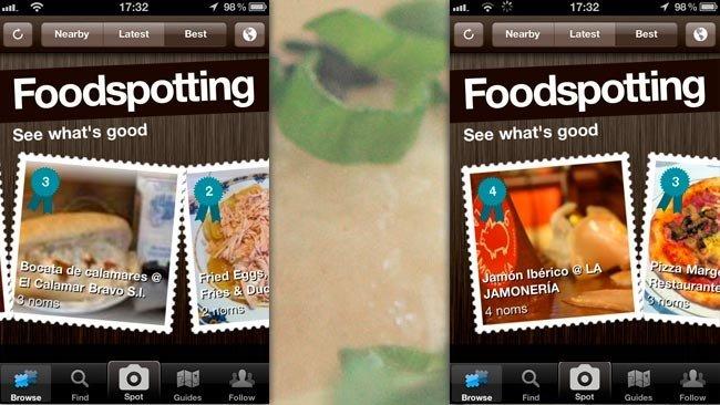 Comida e Internet: Foodspotting
