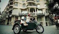 BrightSide, conoce Barcelona a bordo de un sidecar