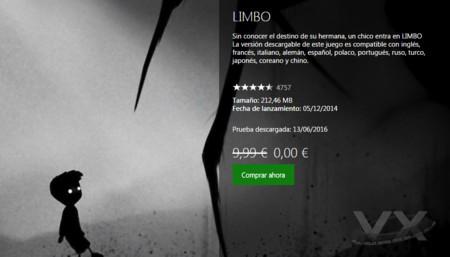 Descarga Limbo gratis en Xbox One... ¡Ahora!