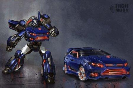 Falcatron, lo que sale si sumas un Ford Falcon y un Transformer