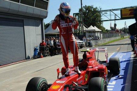 Fernando Alonso gana en Monza y vuelve a meterse en la lucha por el título