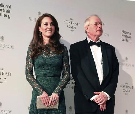 Kate Middleton deslumbra más que las obras de arte de la National Portrait Gallery