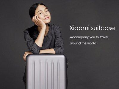 Trolley Xiaomi Suitcase, de 36 litros de capacidad, por 64 euros
