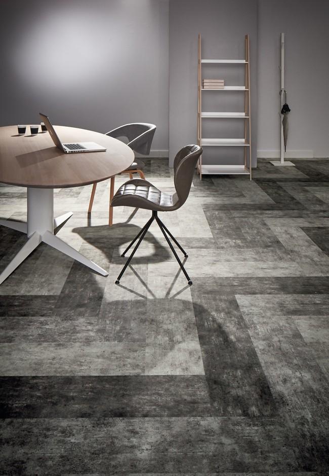 High Resolution Flotex Planks Concrete Horizon 139001 139002 139003