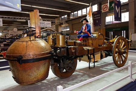 Retromobile 2011 Fardier De Cugnot 006