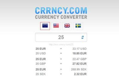 Currency converter, simple conversor de divisas