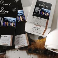 """Canson amplía su gama Infinity con tres nuevos papeles para fotos e impresiones artísticas y """"fabricados en forma redonda"""""""