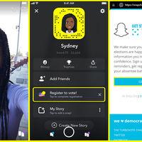 Snapchat asegura que aún es relevante en jóvenes: hizo que 418.000 se registraran para votar en EEUU