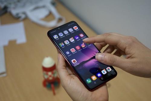 Nuevo LG G8 ThinQ: probamos la versión USA del LG G8 (con su pantalla-altavoz) antes de su llegada a Europa