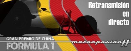 GP de China F1 2011: retransmisión LIVE