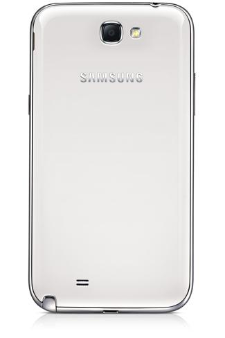 Samsung Galaxy Note II Trasera