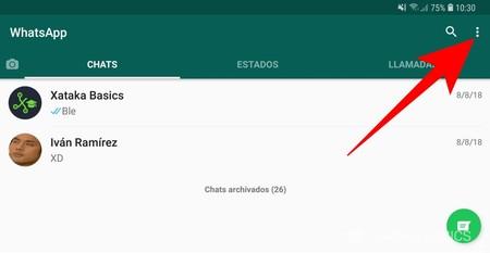Opciones Whatsapp