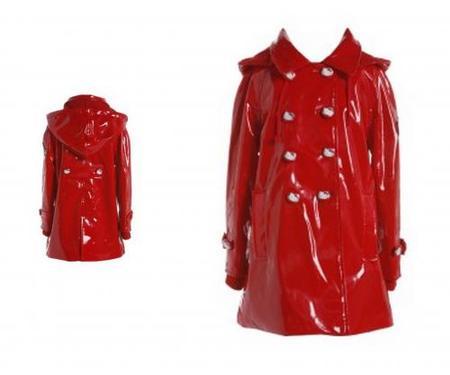 Abrigo impermeable Hello Kitty para niñas, Victoria Couture