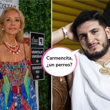 Carmen Lomana se marca un TikTok bailando en un barco con Omar Montes (y la coreografía no tiene nada que envidiarle a la de los Cantajuegos)