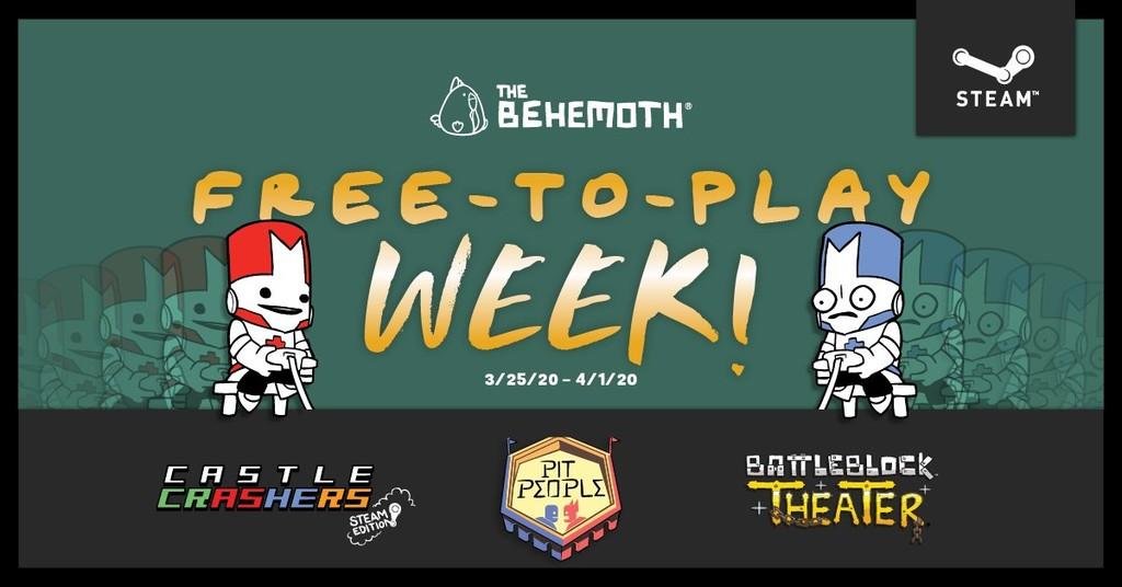 Castle Crashers, BattleBlock Theater y Pit People se juegan gratis hasta el 1 de abril en Steam