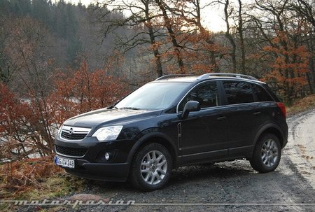 Opel Antara 2011, presentación y prueba en Escocia (parte 1)