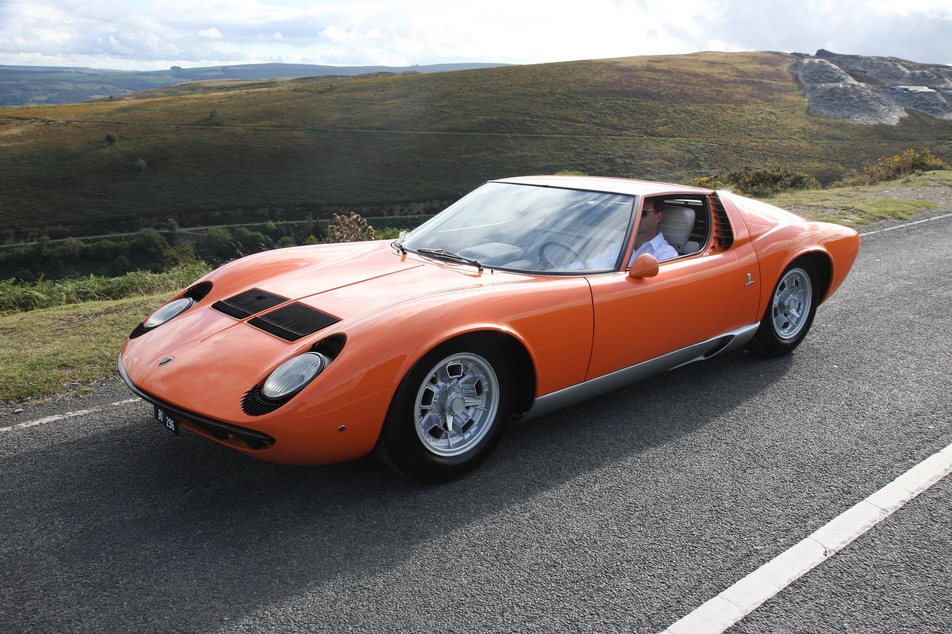 """Lamborghini Miura P400 """"The Italian Job"""""""