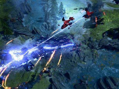 Rift, uno de los mapas multijugador de Halo Wars 2, se deja ver en un gameplay [GC 2016]
