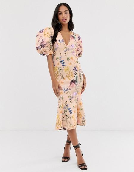 Vestido Floral Largo 03