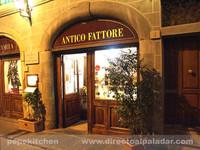 La cocina florentina de la Trattoria Antico Fattore