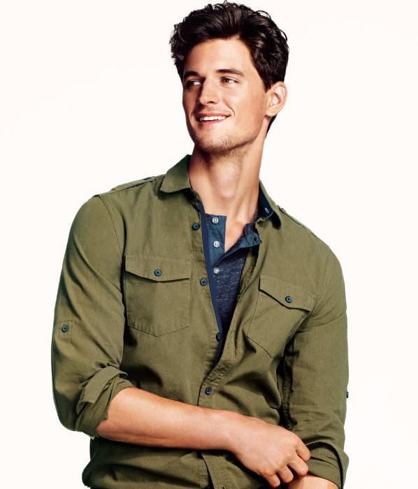 Camisa militar H&M Primavera 2013