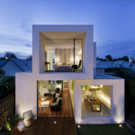 Vieja casita Victoriana transformada en un hogar moderno y funcional