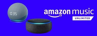 Chollo antes del Amazon Prime Day: compra un Echo Dot por menos de 20 euros y llévate 6 meses de Music Unlimited