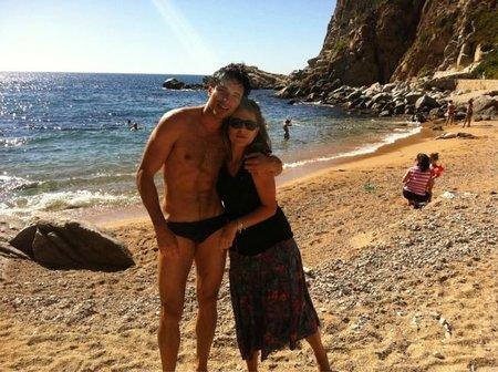 Andrés Velencoso, las vacaciones en familia como los mortales