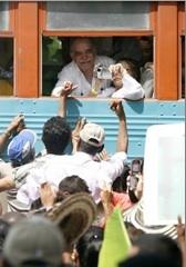 El tren amarillo llegó a Aracataca